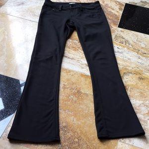 17/21 Black denim look, stretch pants feel